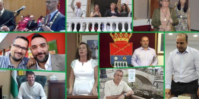 El 'aterrizaje' de los nuevos alcaldes