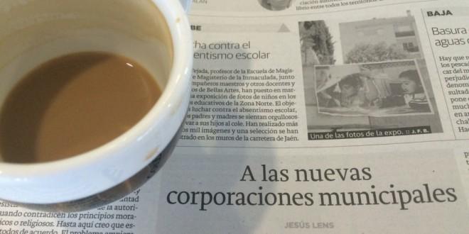 «A las nuevas corporaciones municipales» por Jesús Lens