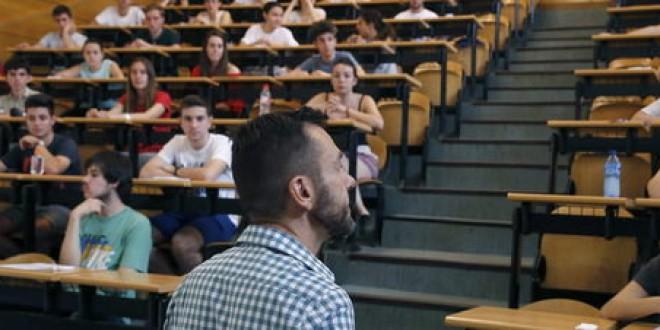 Casi 75.000 universitarios renunciaron a la universidad desde 2012 por las tasas, según CC.OO.