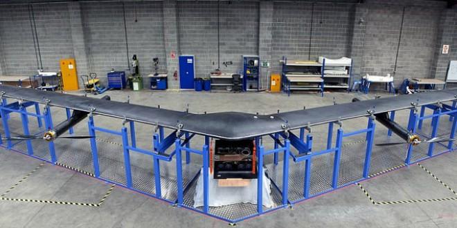 Este es Aquila, el dron gigante de Facebook que llevará Internet a todo el planeta
