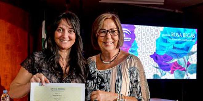 Ayer se hizo entrega al CEIP ATALAYA del PRIMER premio de la VIII Edición de los Premios Rosa Regás.
