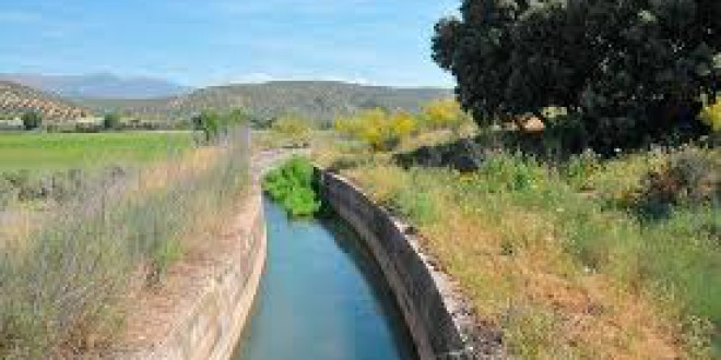 La acequia de  Deifontes, El canal de la vía Augusta