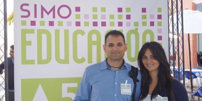 Esther Diánez y José Alberto Martín profesores del CEIP ATALAYA nos cuentan su experiencia en SIMO EDUCACIÓN 2015
