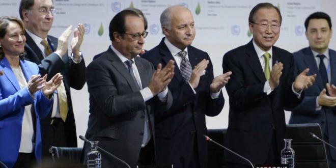Histórico acuerdo en la Cumbre de París contra el cambio climático