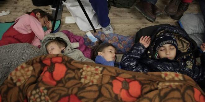 Los refugiados que llegan a Berlín sufren aglomeraciones y caos en los centros de registro