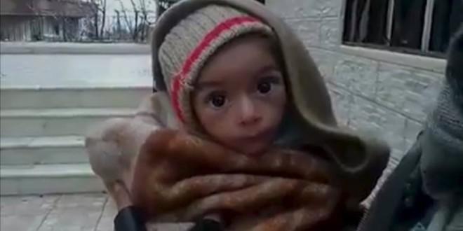 Miles de personas en la ciudad siria de Madaya, en riesgo de morir de hambre