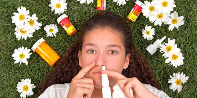 ¡¡¡Llegan las alergias!!!
