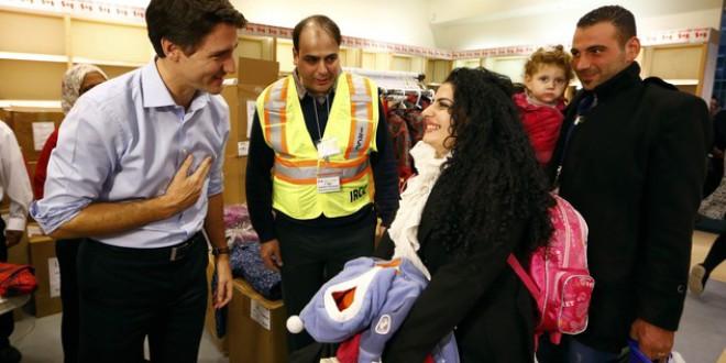 Canadá recibe a lo grande a los refugiados sirios