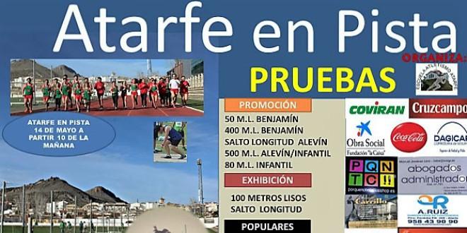 ATARFE: Jornada de promoción y exhibición de atletismo en pista
