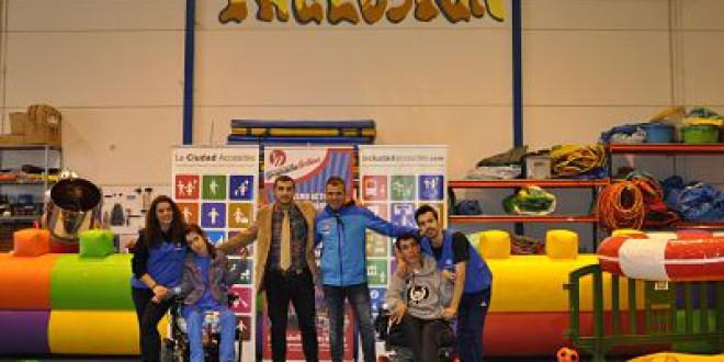 El ocio de 'hinchables' sitúa a Granada como referencia en la apuesta por la inclusión en el juego infantil