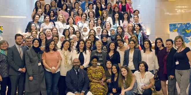 Las mujeres sirias forjan una declaración de unidad por la paz