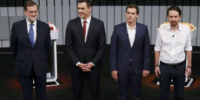 El debate dibuja un panorama difícil para después de las elecciones