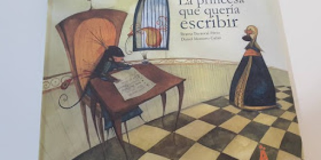 LIBROS QUE ROMPEN ESTEREOTIPOS: LA PRINCESA QUE QUERÍA ESCRIBIR
