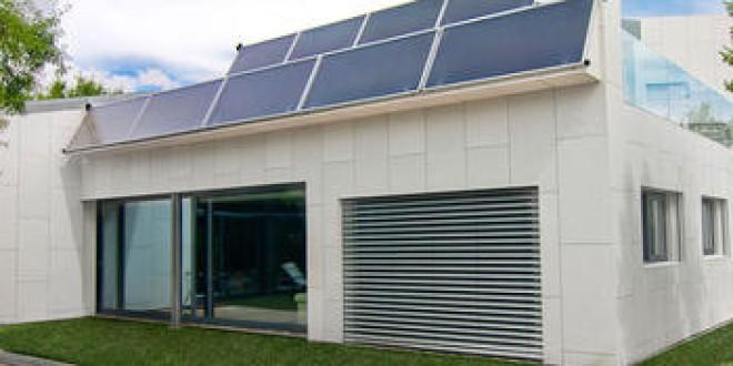 La primera casa autosuficiente sin facturas de agua ni luz