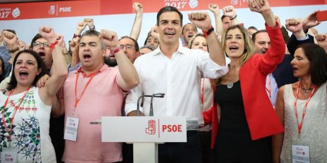 Pedro Sánchez se impone al PSOE del pasado
