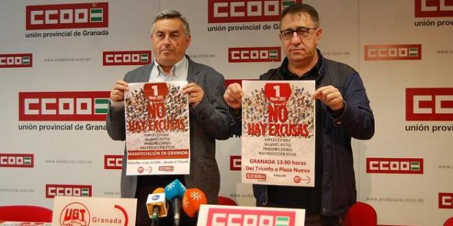 CCOO y UGT llaman a la participación del 1 de mayo para reivindicar derechos