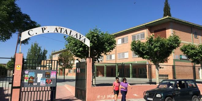 Educación ejecutará trabajos en verano en el CEIP ATALAYA y tres centros mas educativos del 'Cinturón'