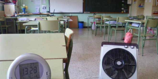 La Junta acometerá durante este verano actuaciones en los centros docentes con mayores necesidades de climatización