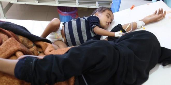 Save the Children alerta de que cada minuto un niño se contagia de cólera en Yemen