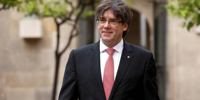 Puigdemont anuncia para el 1 de octubre un referéndum sobre la independencia