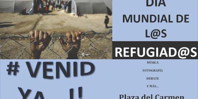 En el Día Mundial de las Personas Refugiadas, ¡Queremos acoger ya!