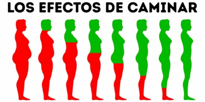 10 Cambios que ocurren en tu cuerpo si caminas todos los días