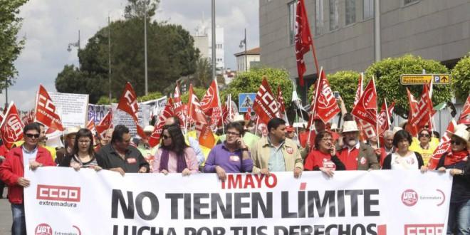 MANIFESTACIONES DEL 1º DE MAYO