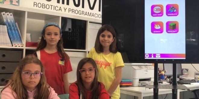 Las niñas que han programado su propia 'app' y se proponen llegar hasta Silicon Valley
