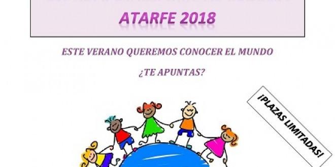 ATARFE: Abierto el periodo de matriculación en la Escuela de Verano y en el Taller de Artes Escénicas