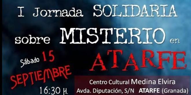 Acompáñanos en la PRIMERA JORNADA SOLIDARIA DE MISTERIO DE ATARFE.