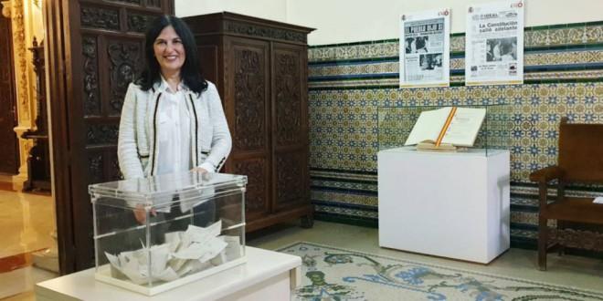 Luis García Montero, en los actos del 40 aniversario de la Constitución en Granada