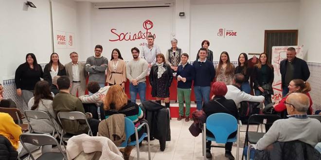 ATARFE: EL PSOE APRUEBA SU LISTA PARA LAS ELECCIONES MUNICIPALES DE MAYO