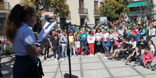 Alumnos de los colegios de Atarfe toman el testigo de la lucha contra el cambio climático