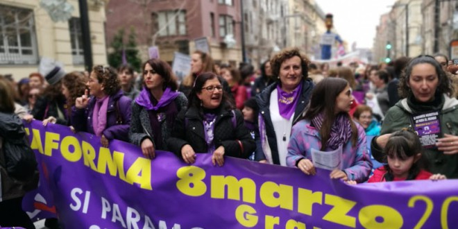 GRANADA: RAZONES PARA IR A LA HUELGA FEMINISTA POR LA PLATAFORMA 8M