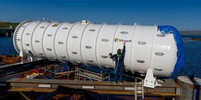 Microsoft, los servidores submarinos y el impacto medioambiental que supone hundir la nube
