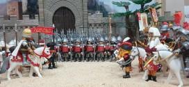La Toma de Granada o las Capitulaciones de Santa Fe recreadas con Playmobil