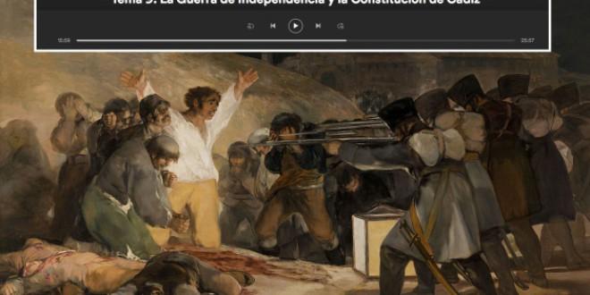 Un 'podcast' para aprobar Historia en selectividad es de los más escuchados de España
