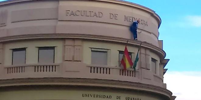 La antigua Facultad de Medicina de Granada