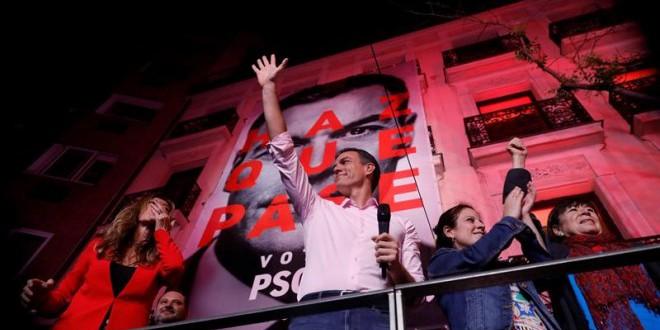 El  PSOE tendría casi el 40% de los votos y la izquierda se haría con más  de la mitad de los escaños si se repitieran las elecciones