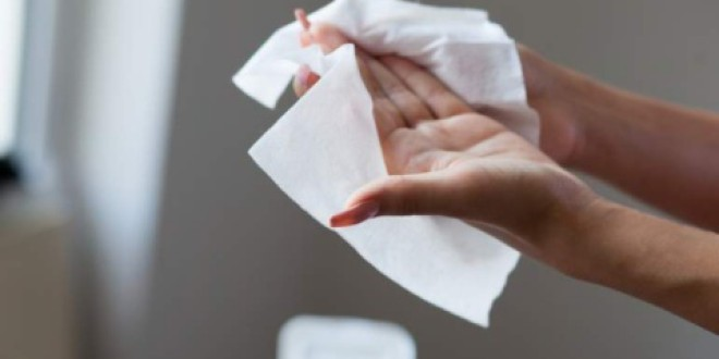 Por fin regulan las toallitas húmedas desechables