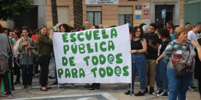 Cierran cerca de 1.500 aulas públicas en Andalucía desde 2011, mientras crecen las concertadas