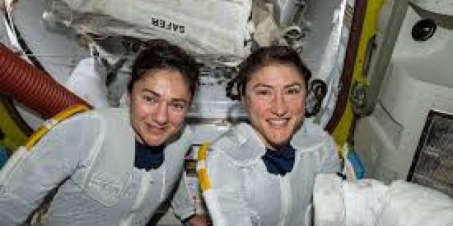La NASA manda al espacio, por primera vez, una tripulación formada solo por mujeres