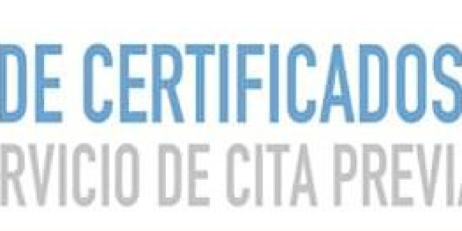 ATARFE: CITA PREVIA PARA LA OBTENCIÓN DEL CERTIFICADO DIGITAL