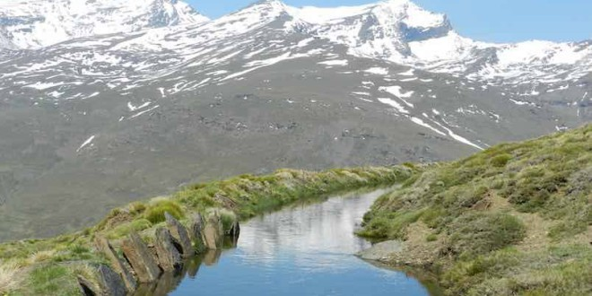 Las acequias más antiguas de Europa están en Sierra Nevada