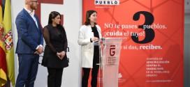 """Diputación lanza la campaña """"Yo cuido mi pueblo"""" para evitar el vandalismo en el mobiliario urbano"""