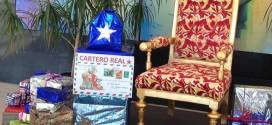 El Cartero Real llega a ATARFE LOS DIAS 3 Y 4 DE 17 A 19h.
