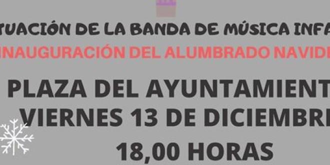 HOY 13 DE DICIEMBRE 2019 INAUGURACIÓN DEL ALUMBRADO NAVIDEÑO