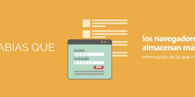 ¿Sabías que los navegadores web almacenan más información de la que creemos?