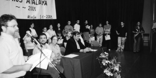 MIRADOR DE ATARFE OCTUBRE DE 2001: PREMIOS ATALAYA