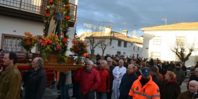 De potaje o puchero de habas y olla de San Antón